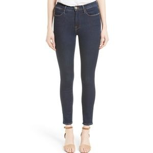 NWT Frame Le High Skinny Jean in Grove Street Wash